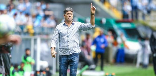 Renato Gaúcho decidirá se permanecerá no Grêmio após a temporada de 2018 - Lucas Uebel/Grêmio