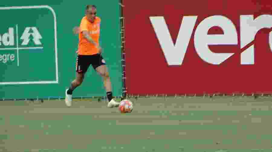 """D""""Alessandro volta em jogo-treino do Internacional contra o São Paulo-RS - Marinho Saldanha/UOL"""