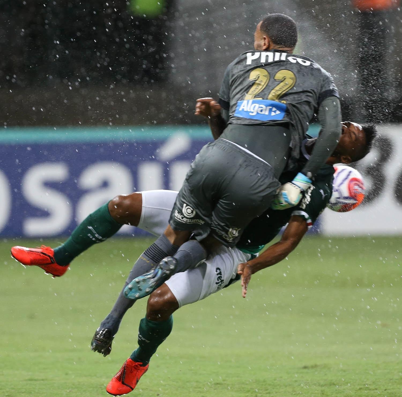 Palmeiras  Ataque de nervos  Borja e Felipe Pires enlouquecem palmeirenses  em clássico d80a086c4e7c9