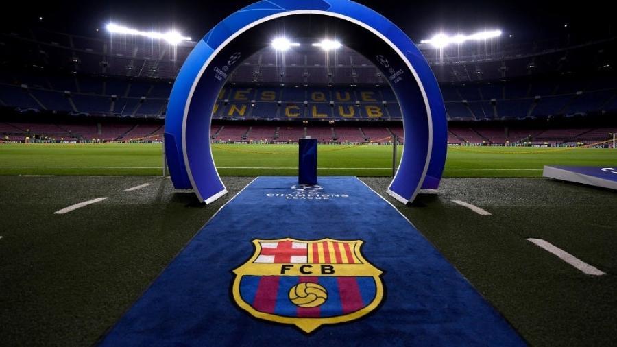 Vista geral do Camp Nou, estádio do Barcelona - Alex Caparros/UEFA/Getty Images