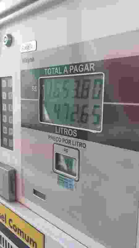 Ônibus Rio-Lima gasta R$ 10 mil em combustível para ir ao Peru - Diego Salgado/UOL - Diego Salgado/UOL