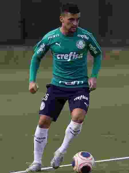 Victor Luís, lateral esquerdo do Palmeiras - Cesar Greco/Ag. Palmeiras/Divulgação