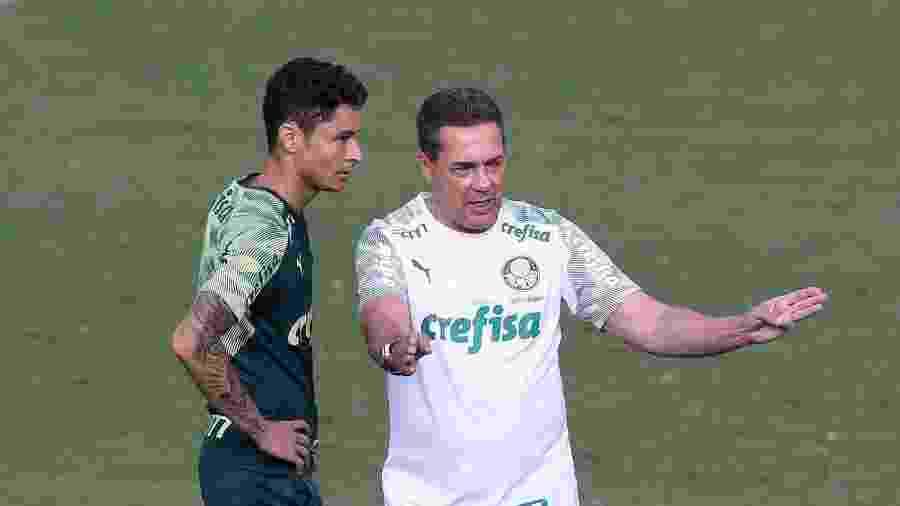 Palmeiras transformou a suspensão de Luxa em uma multa - Cesar Greco/Ag. Palmeiras