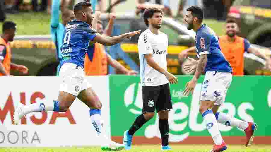 Aimoré venceu Grêmio no primeiro turno e foi um dos mentores da proposta de calendário relâmpago - Pedro H. Tesch/AGIF