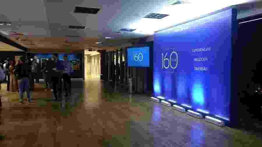 Club 160 foi batizado pelo número de camarotes do Allianz Parque, que estão quase todos vendidos - Arthur Sandes/UOL