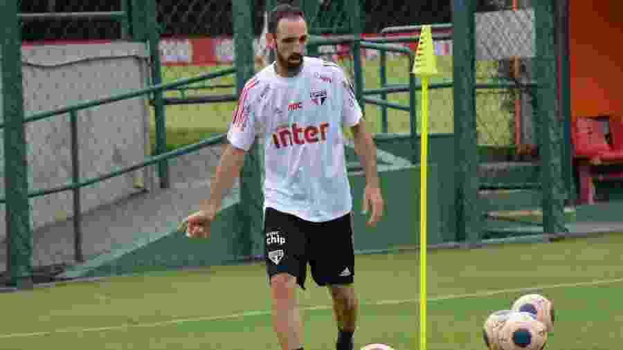 Juanfran foi titular do São Paulo em todas as partidas desta temporada - Erico Leonan/saopaulofc.net