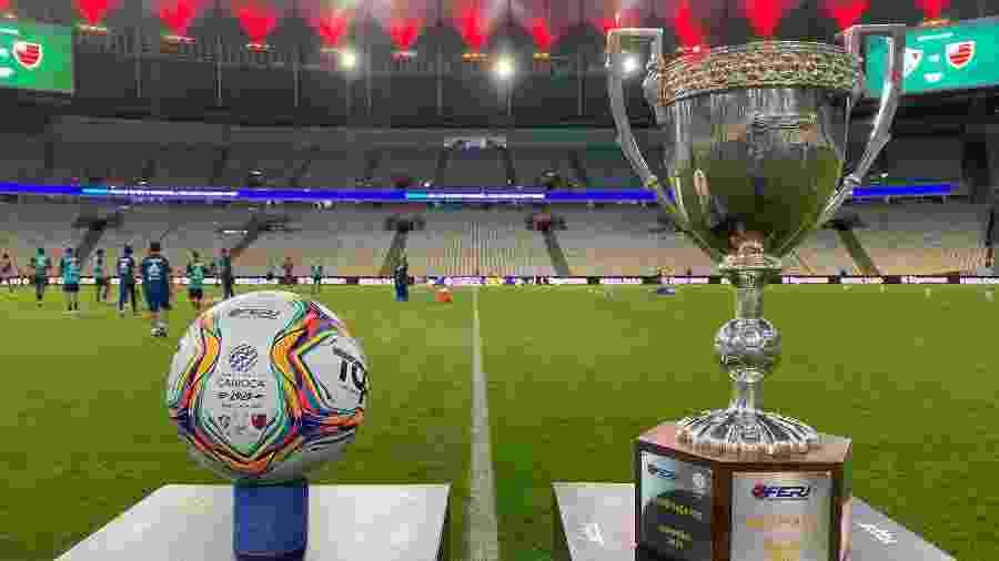 Partida entre Fluminense e Flamengo pela final da Taça Rio foi transmitida pela FluTV - Reprodução/Twitter