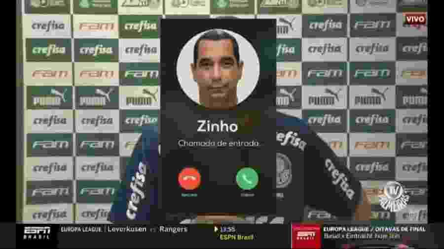 """Zinho """"interrompe"""" programa da ESPN para explicar o que houve ontem durante transmissão de jogo na Fox Sports - Reprodução/ESPN"""