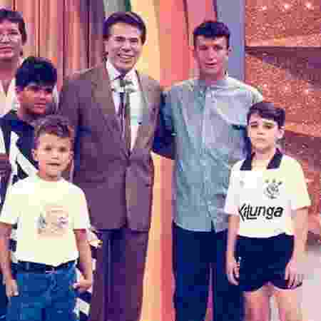 """Neto participou do programa """"Porta da Esperança"""", do SBT, em 1991 - Reprodução/Instagram"""