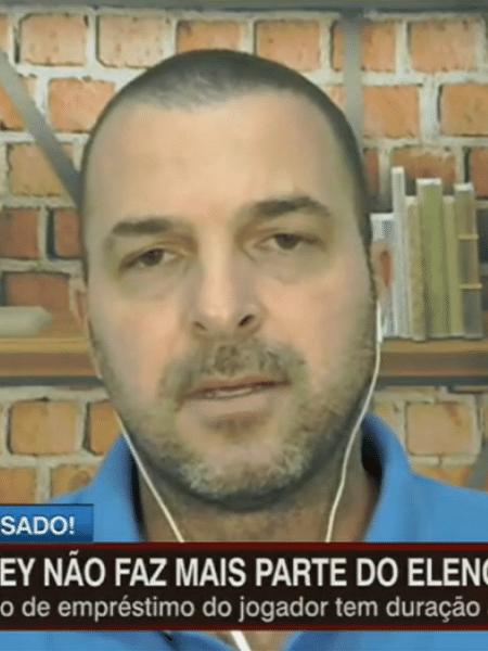 """Zé Elias durante programa """"Futebol na Veia"""", da ESPN - Reprodução/ESPN"""
