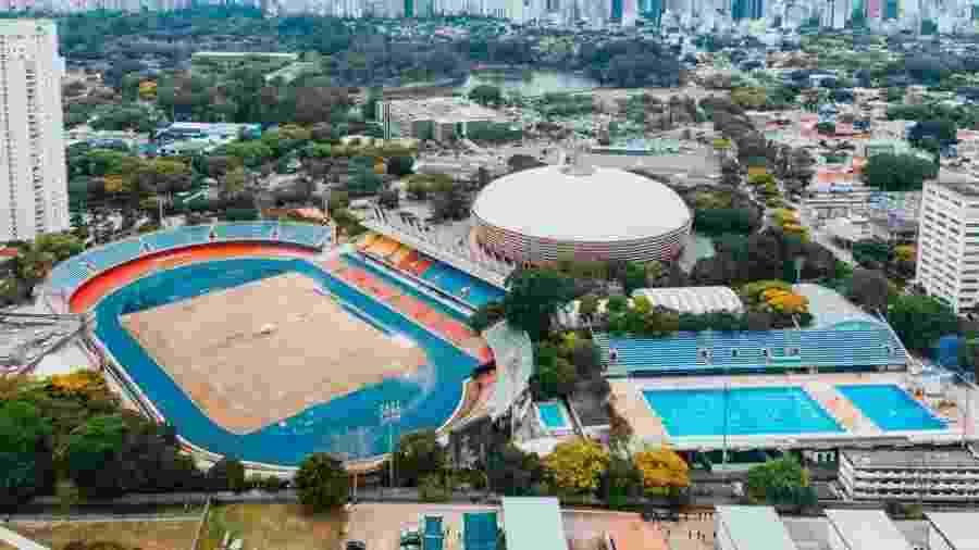 Complexo Esportivo do Ibirapuera - Gabriel Cabral/Folhapress