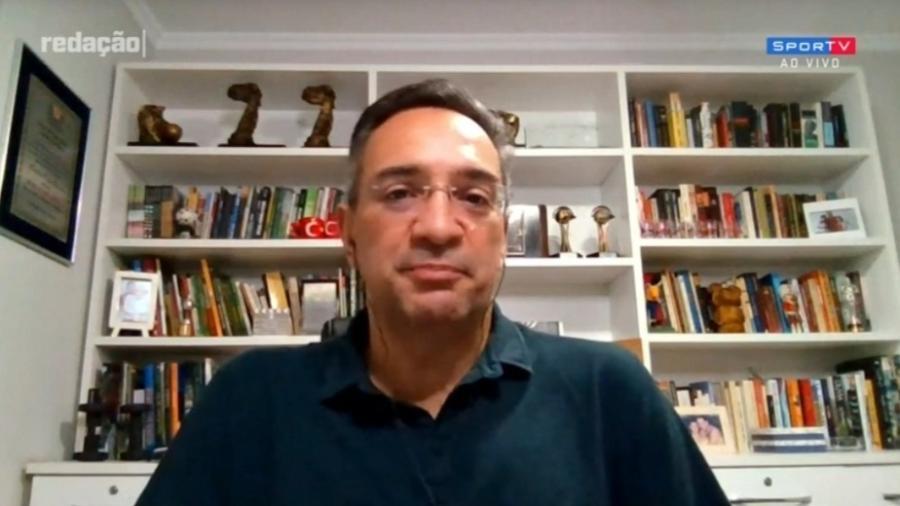 Maurício Noriega, comentarista do Grupo Globo - Reprodução/SporTV