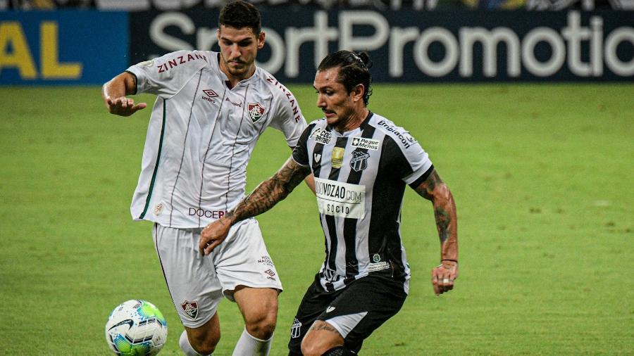 Fluminense e Ceará se enfrentam nesta quarta (7), às 21h30, em São Januário, pela 10ª rodada do Brasileiro  - Kely Pereira/AGIF