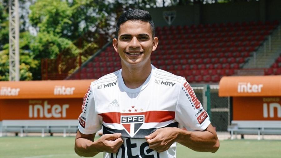 Bruno Rodrigues tem calma para conquistar seu espaço no São Paulo - Divulgação/São Paulo FC