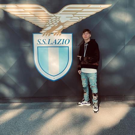Daniel Guerini, meia da base da Lazio, morreu em um acidente de carro em Roma, na Itália - Reprodução/Instagram