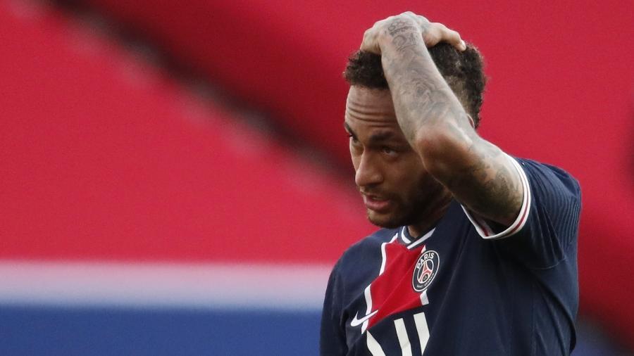 Neymar sofre com falta de gols no Campeonato Francês - REUTERS/Benoit Tessier
