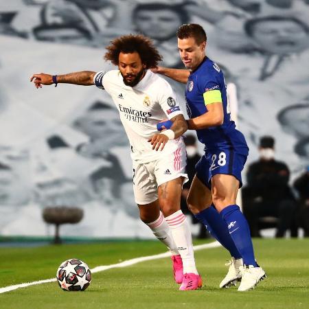 Atleta foi titular no duelo de ida da semifinal da Liga dos Campeões diante do Chelsea - Sergio Perez/Reuters