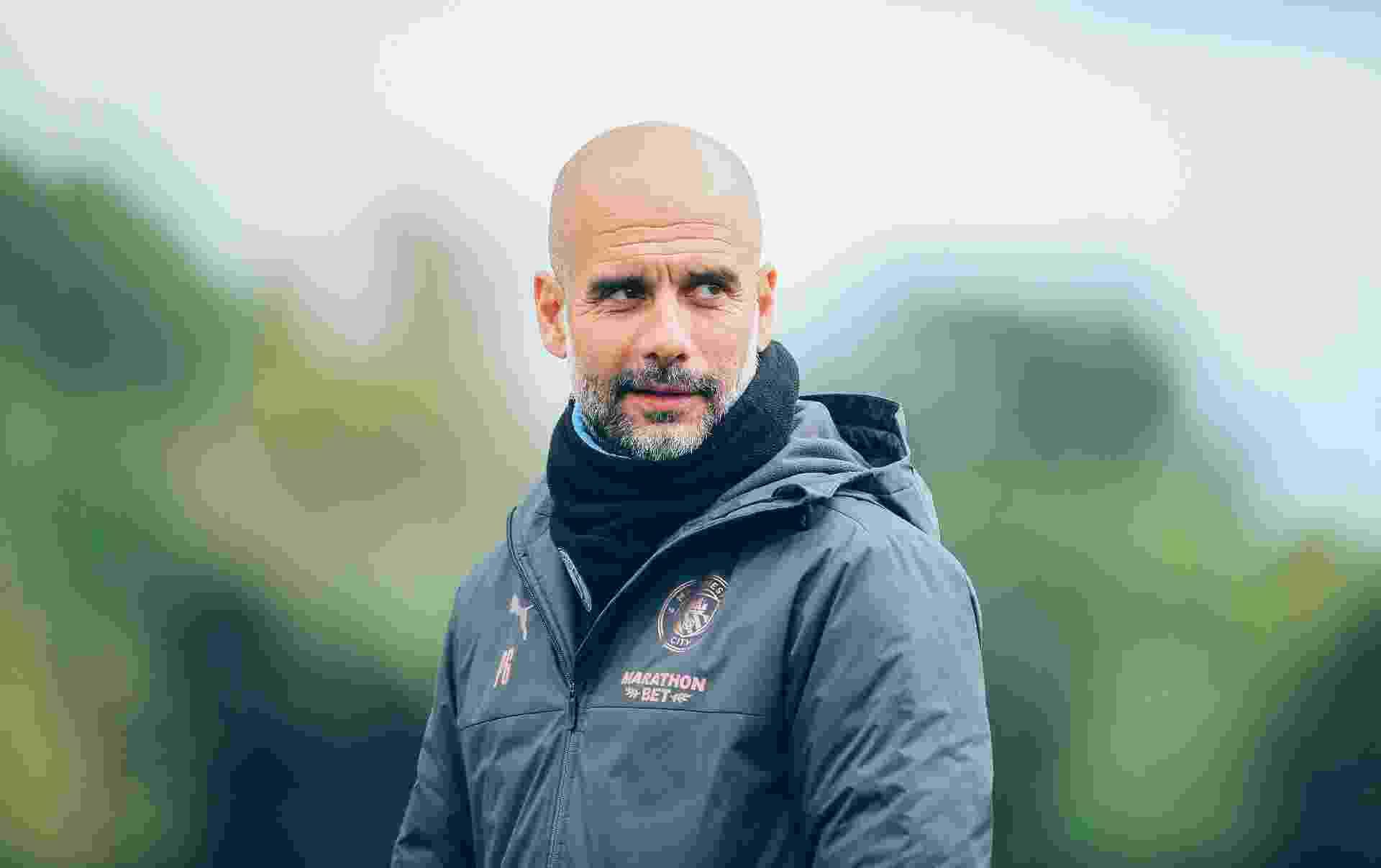 Guardiola comentou festa do City após titulo inglês - undefined