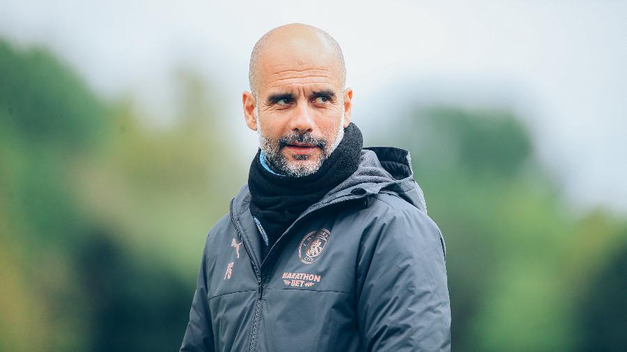 Guardiola comentou festa do City após titulo inglês - Divulgação/Manchester City