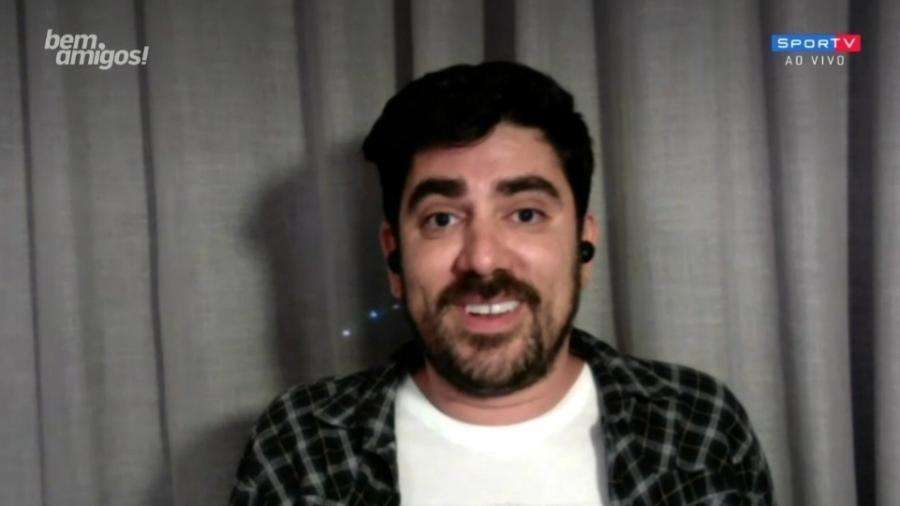 Adnet participa do Bem, Amigos e imita Galvão, Cleber, Casão e Caio - Reprodução/SporTV