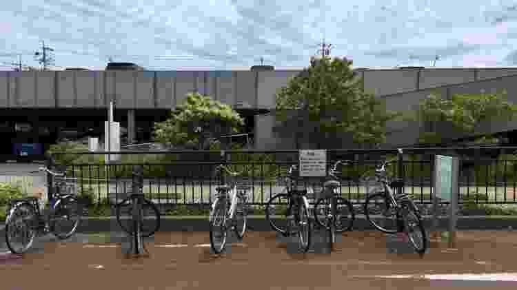 bicicletas toquio - Juliana Sayuri/UOL - Juliana Sayuri/UOL