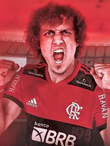 David Luiz vai receber R$ 1,5 milhão por mês no Flamengo - Reprodução/Fla TV