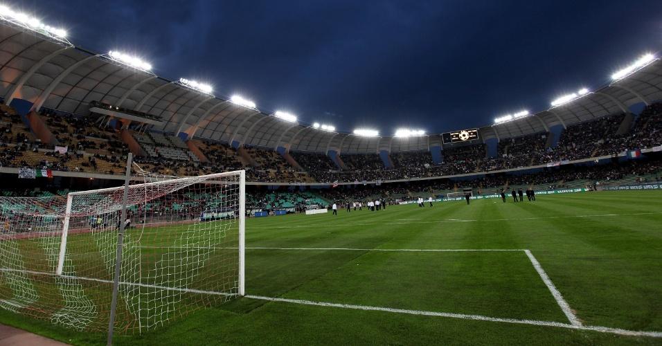 Estádio San Nicola, em Bari (Itália)