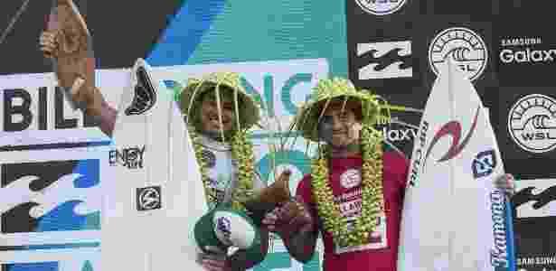 Bruno Santos também venceu a triagem de 2015 no Taiti - Stephen Robertson/WSL
