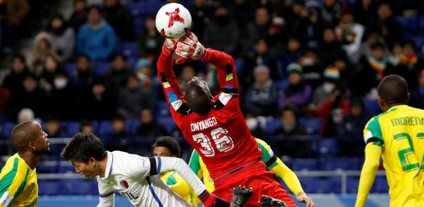 Onyango foi decisivo na derrota do Mamelodi para o Kashima Antlers