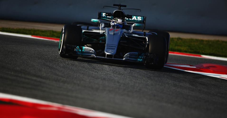 Valtteri Bottas faz sua estreia pela Mercedes