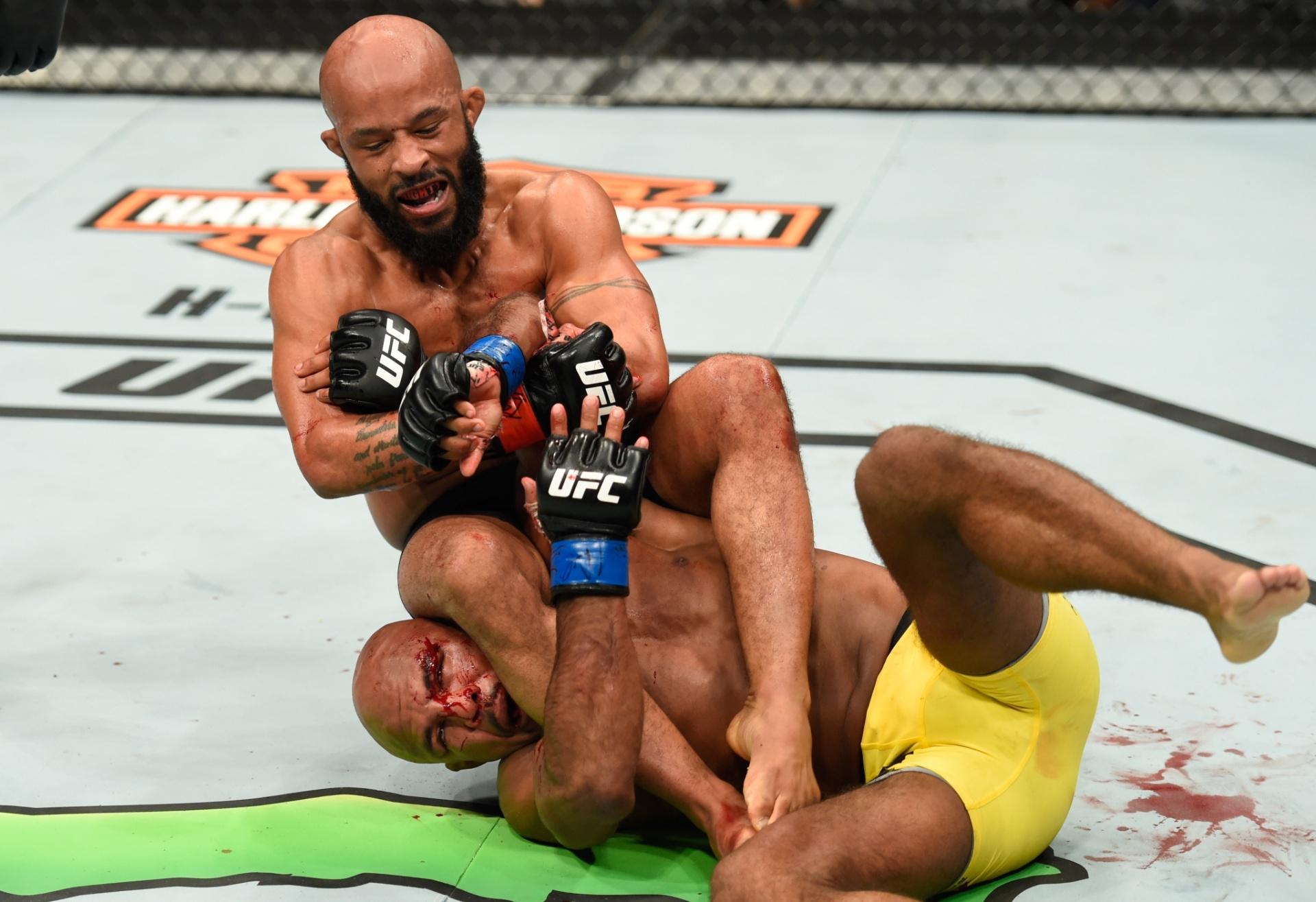 Demetrious Johnson finalizou Wilson Reis no UFC Kansas