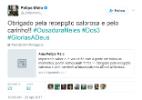 Felipe Melo agradece torcida palmeirense por recepção em aeroporto