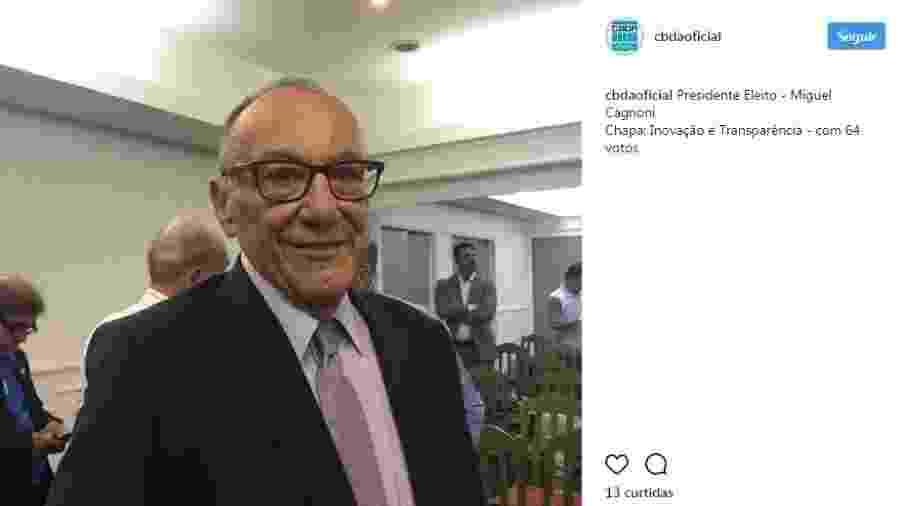 Miguel Cagnoni, novo presidente da CBDA - Reprodução/CBDA