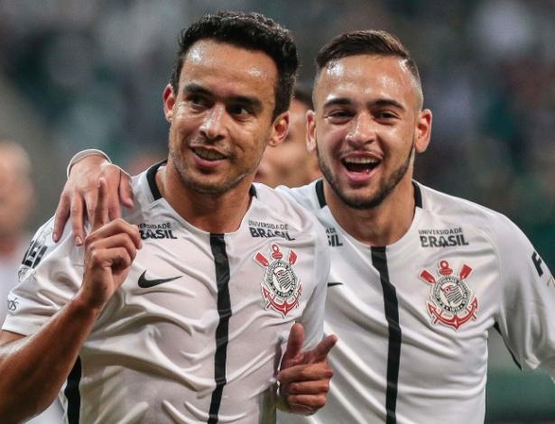 jadson abre o placar para o corinthians contra o palmeiras 1499909033483 615x470 Corinthians, 2 X 0 no Palmeiras. É o super líder!