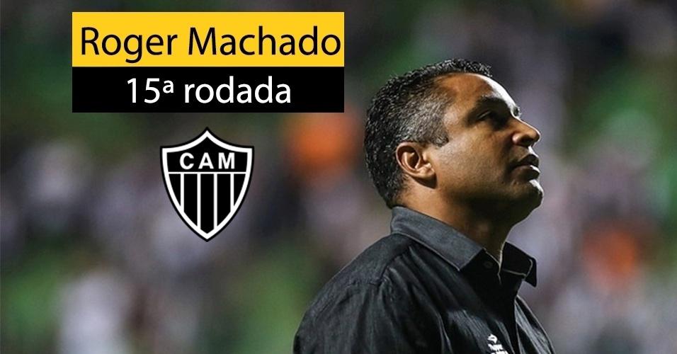 Roger Machado foi demitido do Atlético-MG depois da derrota por 2 a 0 para o Bahia