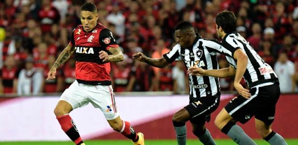 Flamengo e Botafogo abordaram clássico com posturas diferentes dos técnicos