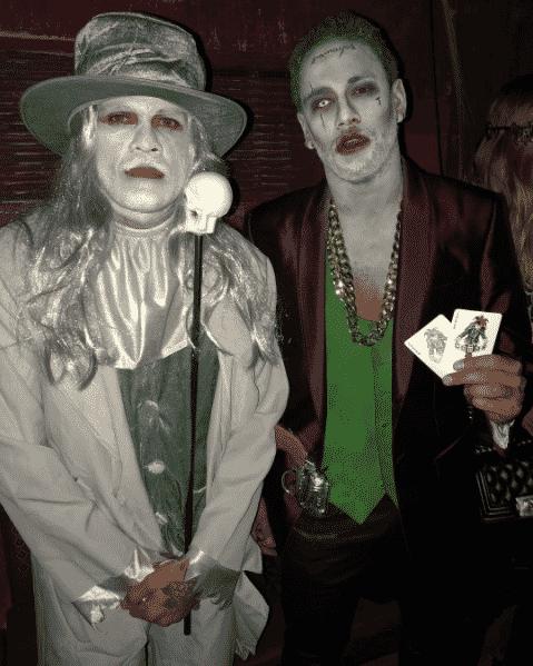 Neymar e Daniel Alves participam de festa de Halloween - Reprodução/Instagram