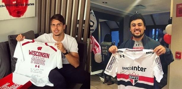 """Araruna, do """"soccer"""", e Rafael Gaglianone, do """"football"""", são amigos de infância"""