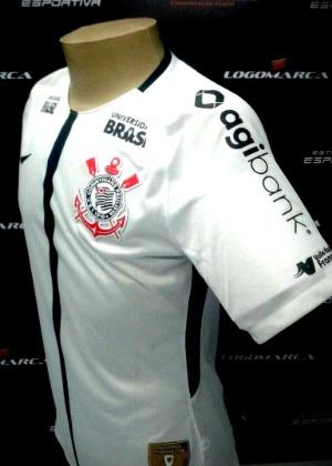 Corinthians terá nova marca na camisa - Divulgação/Corinthians