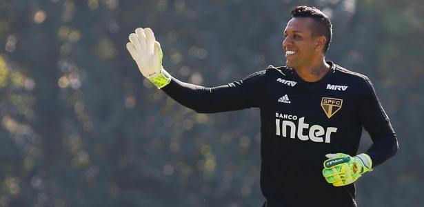 Sidão se despede do São Paulo. O jogador vai defender o Goiás na próxima temporada - Marcello Zambrana/AGIF