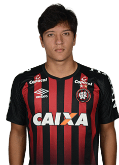 Matheus Anjos, meia do Atlético-PR