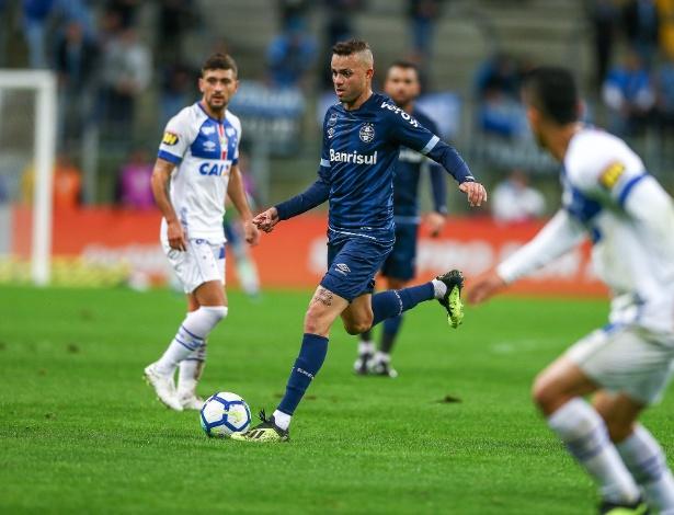 Nome do meia-atacante foi citado durante conversa entre direções de Grêmio e Cruzeiro - Lucas Uebel/Grêmio