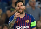 Messi destoa, e estrelas ficam devendo na primeira rodada da Champions - LLUIS GENE / AFP