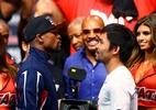 Eles prometem voltar: O que fizeram Mayweather e Pacquiao desde a Superluta - Mark J. Rebilas-USA TODAY Sports