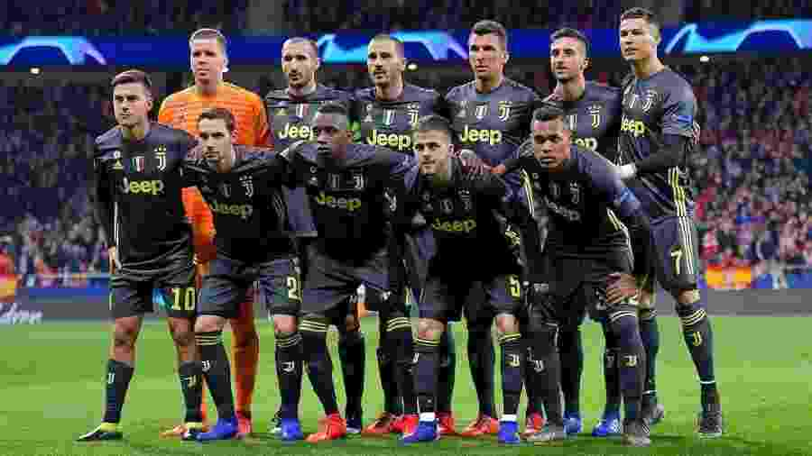 Juventus na Liga dos Campeões - Reprodução/Instagram