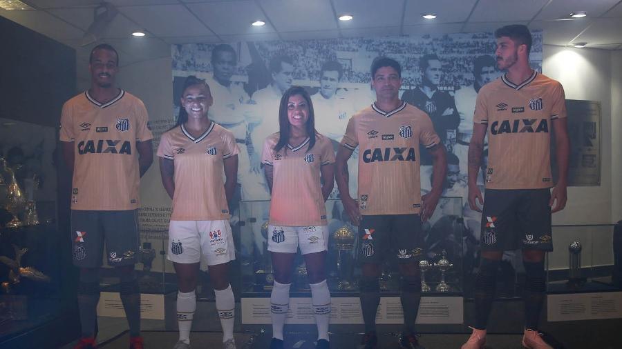 faf9d67183e01 Santos deve lançar novo uniforme na primeira quinzena de março - 20 ...
