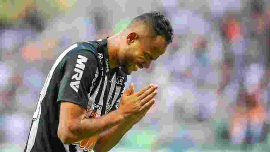 Geuvânio é reserva do Atlético-MG, mas não ficou nem no banco de reservas na noite de hoje, contra o La Equidad - Bruno Cantini/Atlético-MG