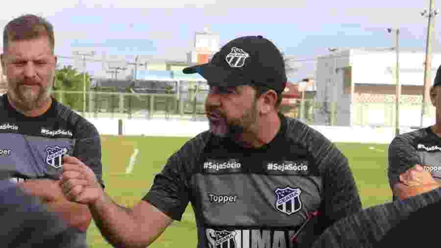 Enderson Moreira, técnico do Ceará - Kalyne Lima/cearasc.com