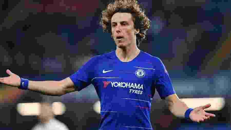 David Luiz pode trocar o Chelsea pelo Arsenal neste mercado da bola - Oliver Greenwood/AFP