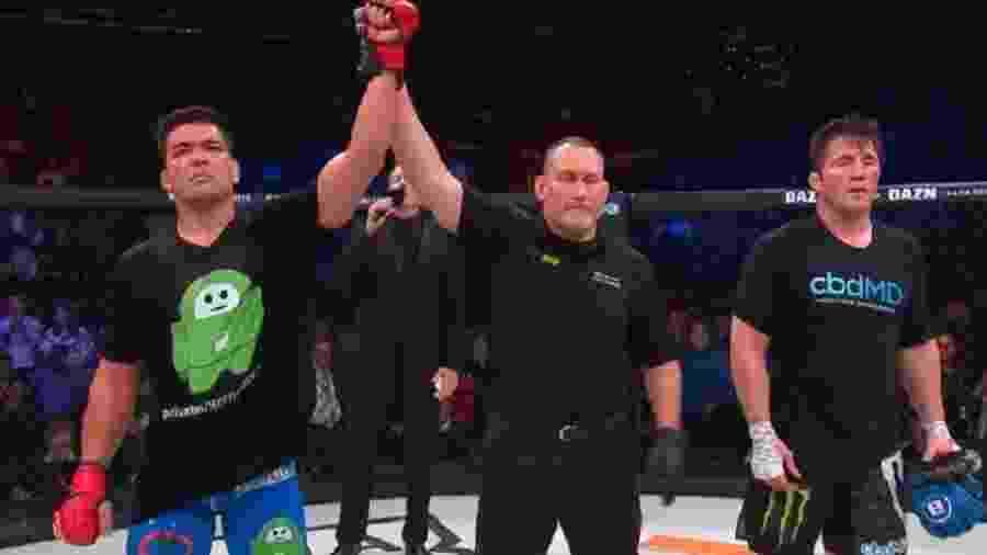 Lyoto Machida é declarado vencedor em luta contra Chael Sonnen - Reprodução